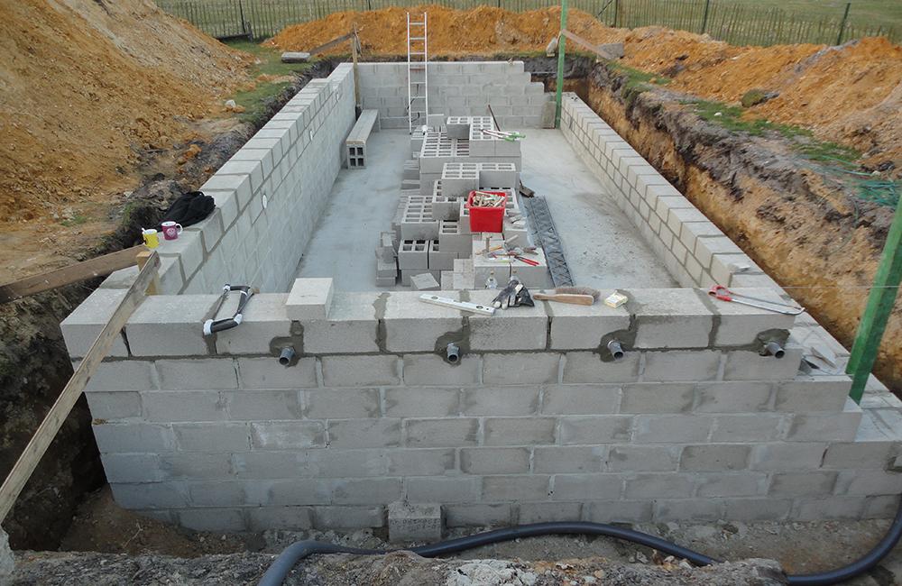 Super Opbouw muren - Zwembad Forum TK07