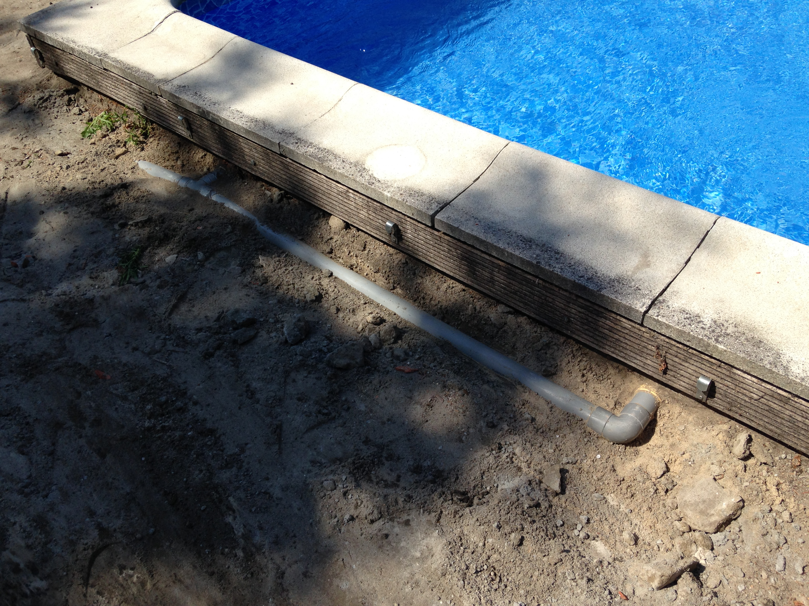 Skimmers en inspuiters zwembad forum for Zwembad leggen