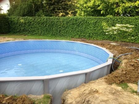Trevi zwembad bouwen for Goedkoop inbouw zwembad