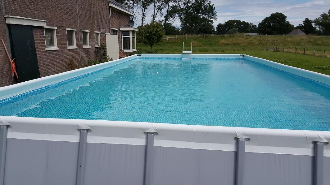Pech bij opbouw intex ultra frame zwembad forum for Zwembad met frame
