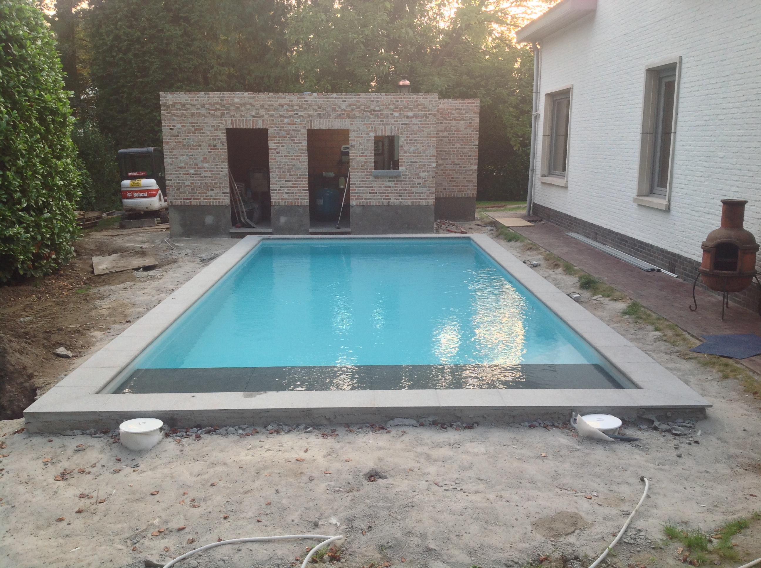 Voorstelling mezelf project zwembad forum for Zwembad aanschaffen