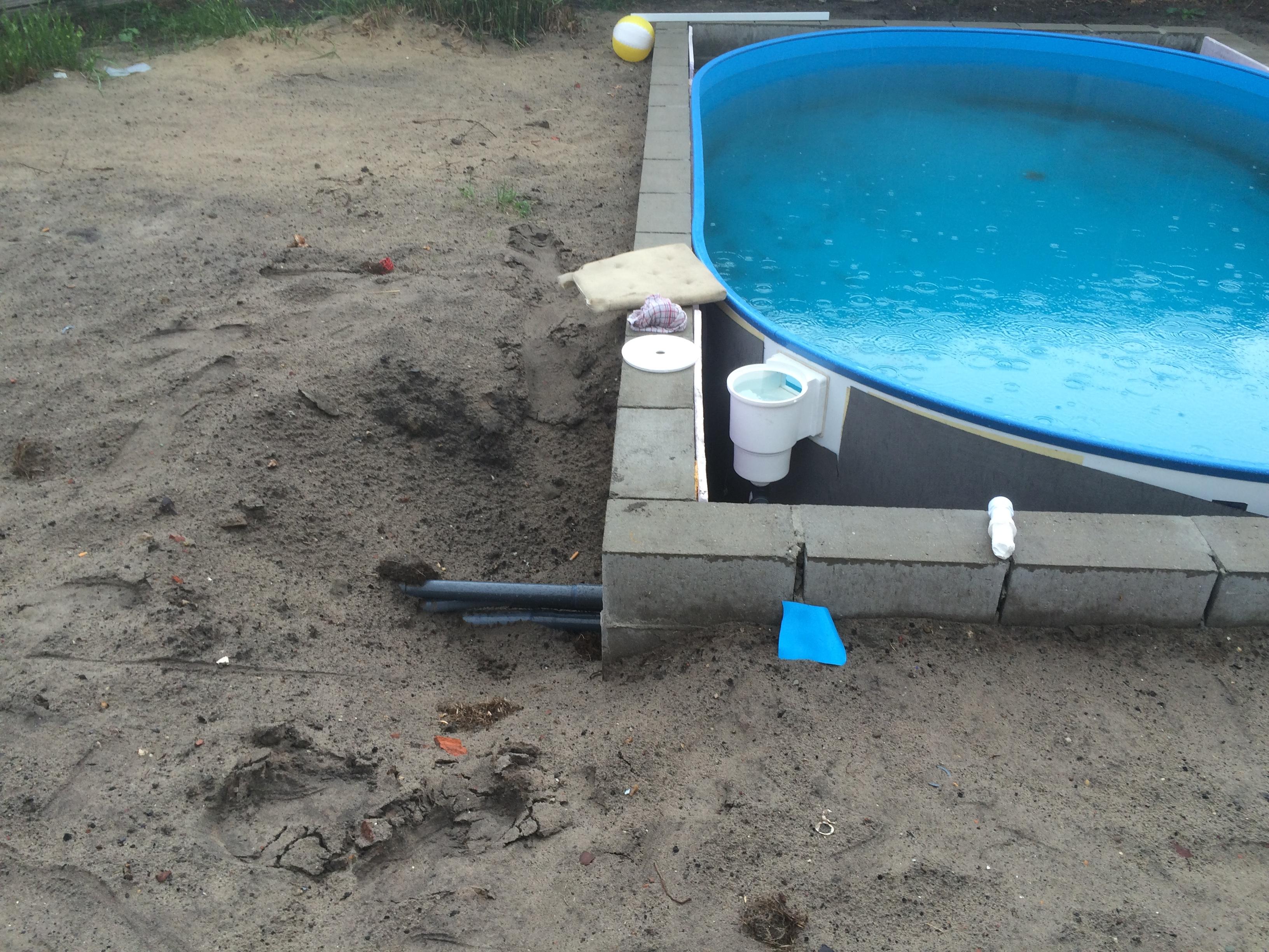 Pomp zuigt niet aan zwembad forum for Zwembad rechthoekig met pomp