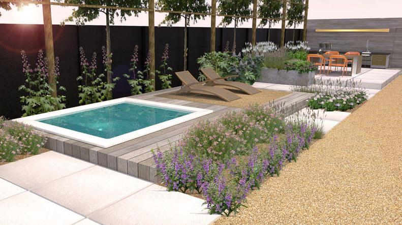 Klein zwembadje zwembad forum - Klein zwembad in de kleine tuin ...