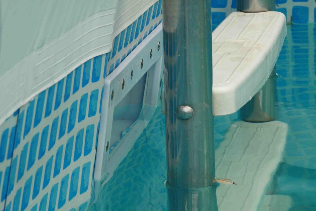 Inbouw skimmer in intex ultraframe zwembad forum for Zwembad half inbouw