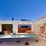 Inbouwzwembad beton in Griekenland