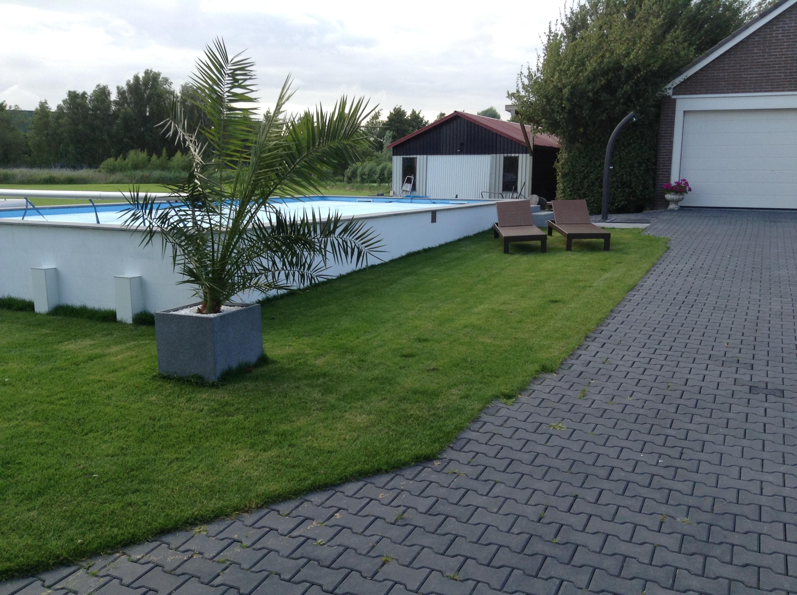 Hans zwembad forumzwembad forum for Zelf zwembad aanleggen kostprijs