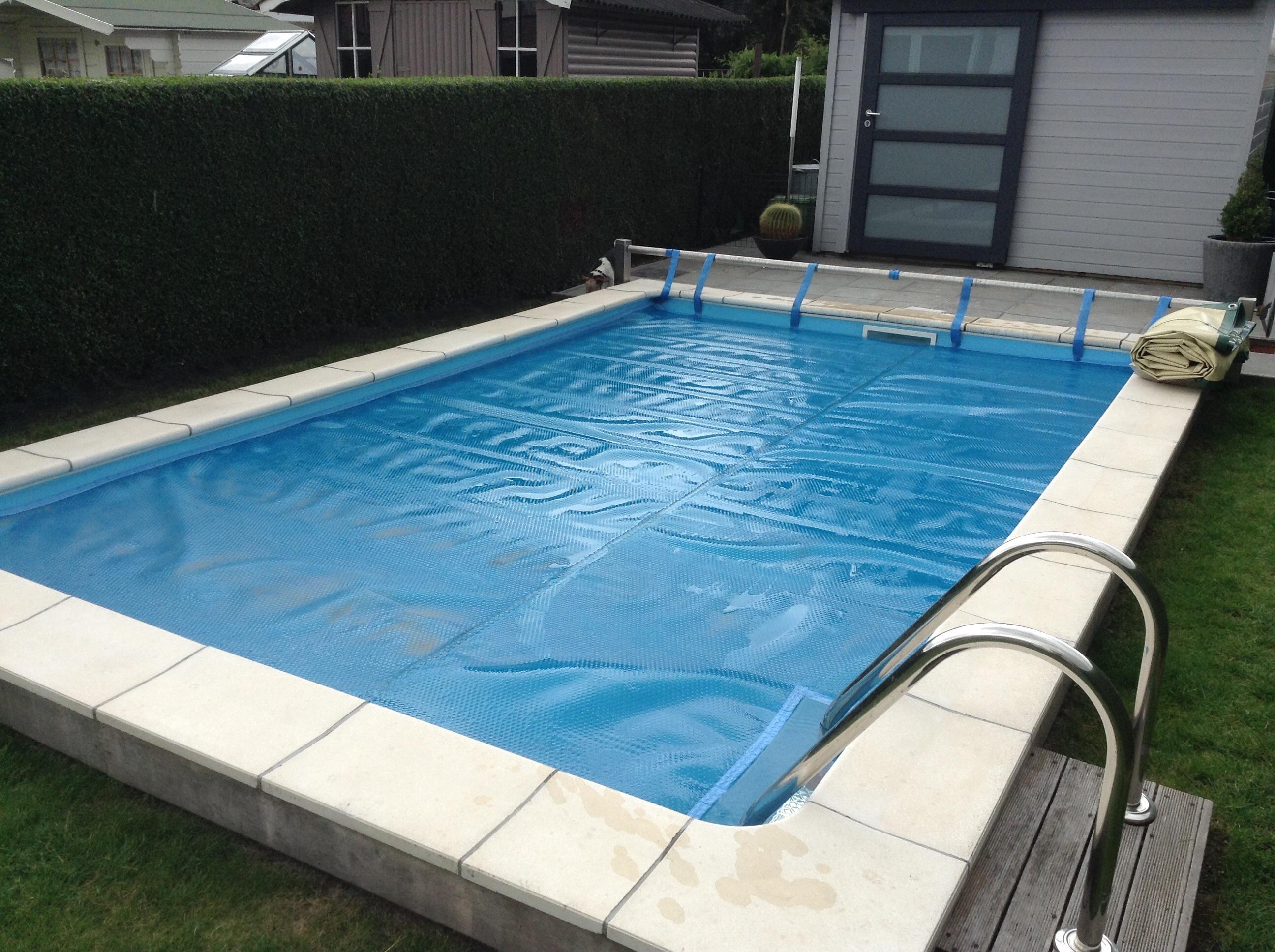 Zomerzeil zwembad